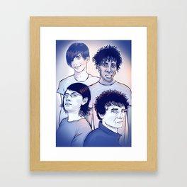 Bloc Party Framed Art Print