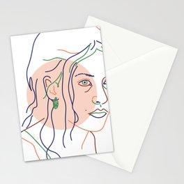 Clementine Kruczynski (Eternal Sunshine of the Spotless Mind) Stationery Cards