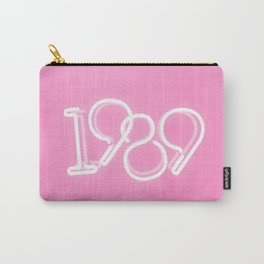 1989 Neon Sign Carry-All Pouch