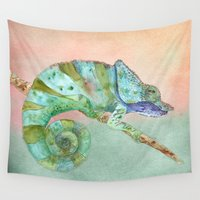karma Wall Tapestries featuring Karma by Catherine Holcombe