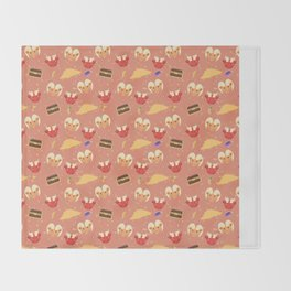 Dragon Hoard Pattern Throw Blanket