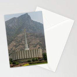 Provo Utah Mormon Temple Latter Day Saints Church Stationery Cards