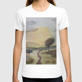 Path to tree T-shirt