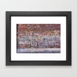 This is the year   Noriko Aizawa Buckles Framed Art Print