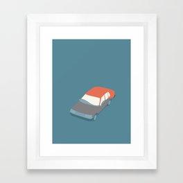 BILVASK ( car wash) Framed Art Print