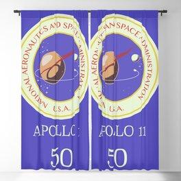 Apollo 11 50th Anniversary Blackout Curtain