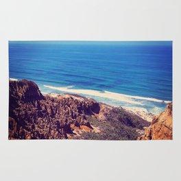 California Cliffs Rug