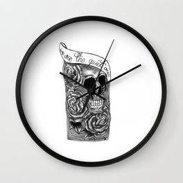 We Are The Quiet Ones Tattoo Wall Clock