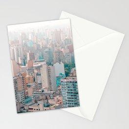 big city life Asia Stationery Cards