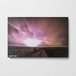 Thunder Struck Metal Print