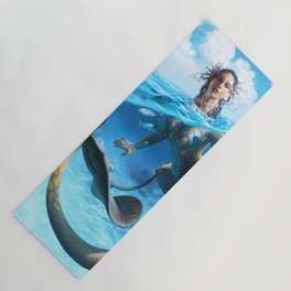 Ray Mermaid Yoga Mat