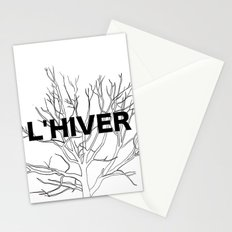 L'HIVER Stationery Cards