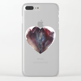 Ashley Lane's Vagina Valentine Clear iPhone Case