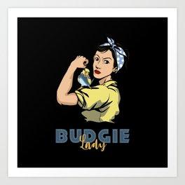 Budgie, Budgie parakeet, Budgie parrot Art Print
