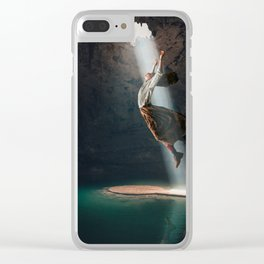 The Cave Clear iPhone Case