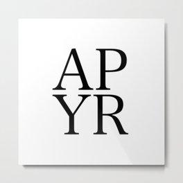 P R A Y Metal Print