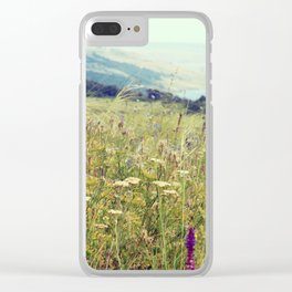Photography nature Rustic landscape photo Botanical print Country decor Gift for parents Clear iPhone Case