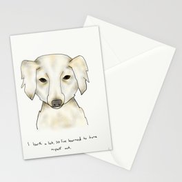 alice the dog Stationery Cards