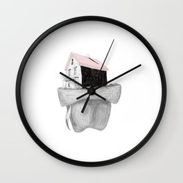 Missing Home Wall Clock