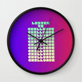 Chillwave Wall Clock