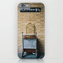 Platform 9.3/4 iPhone Case
