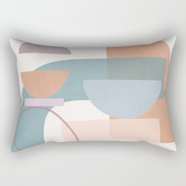 Azzurro Geometry 2 Rectangular Pillow