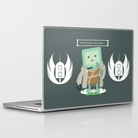 video games Laptop & iPad Skins featuring Jedi Mo: You will play video games... by FuManChou
