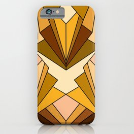 Art Deco meets the 70s - Large Scale iPhone Case