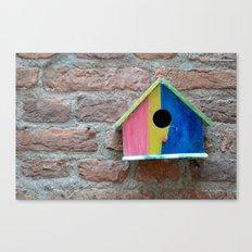 Birdhouse 2 Canvas Print