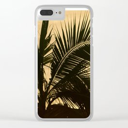 Silhouette Clear iPhone Case