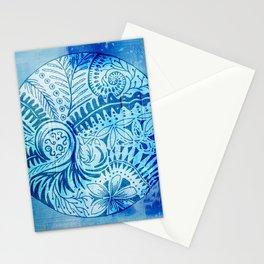 New Zealand inspired Mandala Stationery Cards