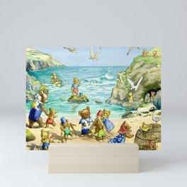 """Beach Days"" by Molly Brett 1924 Mini Art Print"