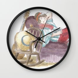 King Size Couch Potato  Wall Clock