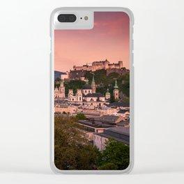 SALZBURG 02 Clear iPhone Case