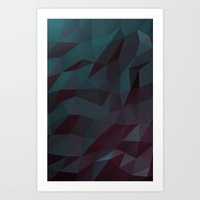 soft poly Art Print