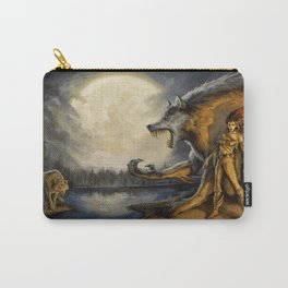 TimberWerewolf by BAXA Carry-All Pouch