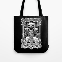 THE POLITICS OF GREED Tote Bag