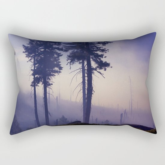 Purple Rain Rectangular Pillow
