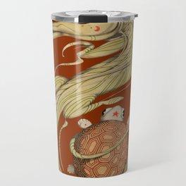 Dragon ith turtle Travel Mug