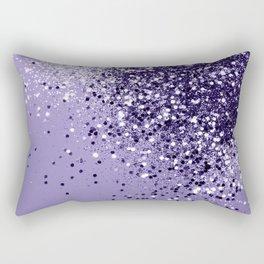 ULTRA VIOLET Glitter Dream #1 #shiny #decor #art #society6 Rectangular Pillow