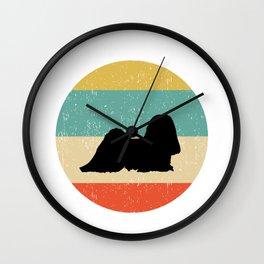 Lhasa Apso Dog Gift design Wall Clock