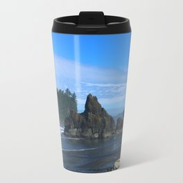 Morning At Ruby Beach Travel Mug