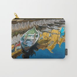 Norwegian Row Boat And Reflections Carry-All Pouch