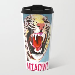 Big Cat Miaow! Travel Mug