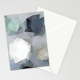 Hoppel — low poly art, nature, forest, mountains, landscape, minimalistic ar, home office, living  Stationery Cards