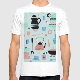 Kitschy Kitchen in Minty T-shirt