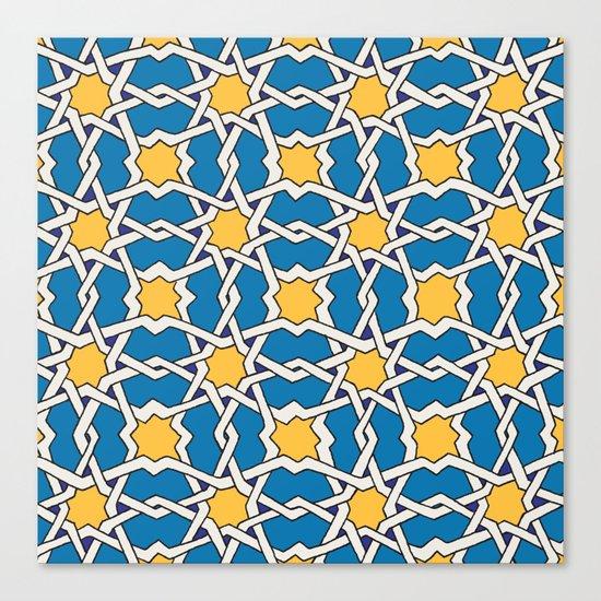 Morocco ornament Canvas Print
