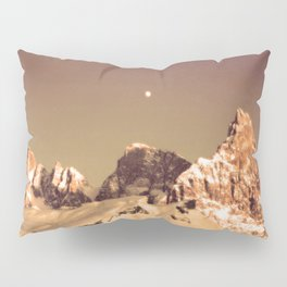 Dream a little Dream #Moon #Mountains Pillow Sham
