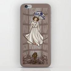 Leia's Corruptible Mortal State iPhone Skin