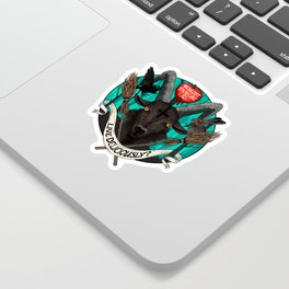 Black Phillip (The Witch) Sticker